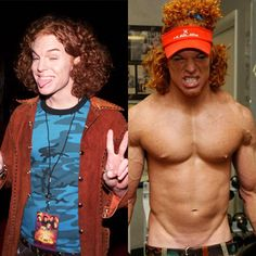 Carrot Top Before After Plastic Surgery Disaster Pic