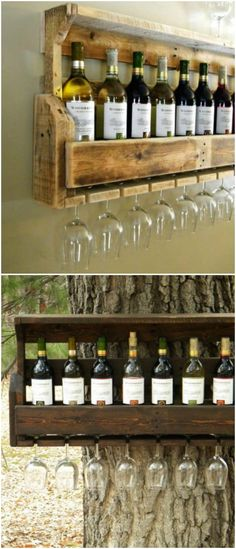 Whoot pallet crafts, pallet projects, wood crafts, diy crafts, home pro Pallet Crafts, Diy Pallet Projects, Home Projects, Wood Crafts, Diy And Crafts, Router Projects, Woodworking Projects, Small Wine Racks, Rustic Wine Racks