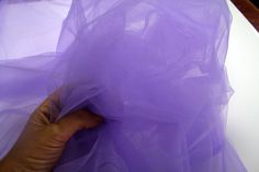 300cm 118 purple Tulle fabric Netting under by BodikianTextiles