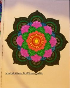 "De mon livre ""Inspiration zen, 50 mandalas"". :)"