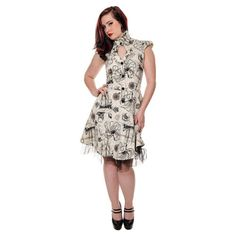 Jawbrekaer-creme-vilain-cal-robe-steampunk-victorienne-cosplay-fashion