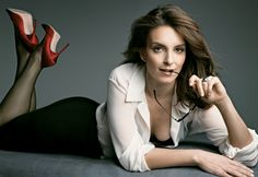 This woman is hot and funny! A dangerous combination - Tina Fey.