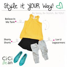 Gymnastics CiCi Style!   CiCi Bean - clothing for tween girls.   Contact your local Play Stylist or shop online at www.peekaboobeans.com   #cicibeanstyle