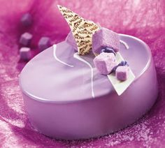 Formation pâtisserie: Entremets, tartes et petits gateaux - David Capy~~Purple and SOOOO PRETTY!