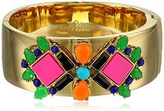 "Kate Spade New York ""Metropolis Mosaic"" Multi-Hinge Bangle Bracelet - http://www.womansindex.com/kate-spade-new-york-metropolis-mosaic-multi-hinge-bangle-bracelet/"