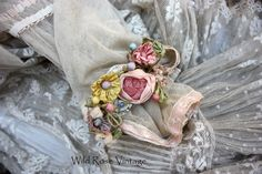 Wild Rose Vintage: 1920's Beautiful Vintage Wedding Dress and other pieces...