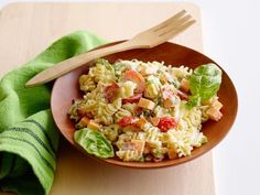 Get Kid Friendly Pasta Salad Recipe from Food Network