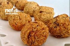 Discover recipes, home ideas, style inspiration and other ideas to try. Sugar Free Cookie Recipes, Sugar Free Cookies, Turkish Snacks, Turkish Recipes, Diet Recipes, Vegetarian Recipes, No Gluten Diet, Healthy Desserts, Healthy Recipes