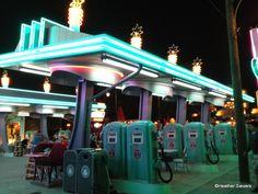 Flo's V-8 Cafe in Disneyland's Disney California Adventure!