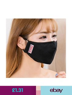 Solid Color Olive Green Face Mask,Mouth Cover Muffle with 2Pcs Replaceable Parts Anti-Dust for Unisex