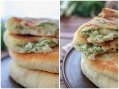 Пышные лепешки с творогом и зеленью: your_food_today
