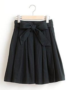 Amazon.co.jp: (マジェスティックレゴン) MAJESTIC LEGON タックフレア膝丈SK ネイビー フリー: 服&ファッション小物