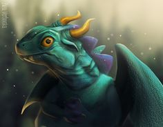 "Check out new work on my @Behance portfolio: ""My first dragon try :)"" http://be.net/gallery/57564243/My-first-dragon-try-)"
