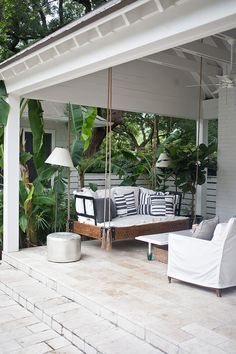 covered patio fun idea. by Heather A Wilson and Jen Langston, via desire to inspire.