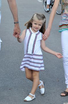 Princess Leonor, Spains 8-Year-Old Future Queen, Already Has Amazing Style
