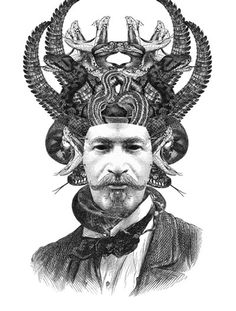 Awesome illustrations by Dan Hillier