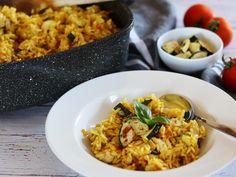 Eintopf s cuketou a kuřecím masem Risotto, Dishes, Simple, Ethnic Recipes, Food, Stew, Tablewares, Essen, Meals