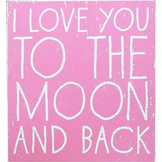 Go Jump in the Lake // I Love You to the Moon and Back Wall Art
