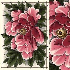 18 Ideas For Flowers Art Tattoo Tatoo Japanese Tattoo Words, Japanese Tattoo Meanings, Japanese Sleeve Tattoos, Japanese Tattoo Cherry Blossom, Japanese Flower Tattoo, Japanese Flowers, Flower Tattoo Designs, Flower Tattoos, Flower Designs