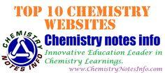 List of Top 10 Chemistry Websites