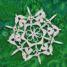 Another amazing snowflake by Snowcatcher on Snowflake Monday