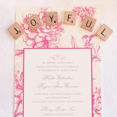 Blush Printables - Custom Wedding Invitations and Party Invitations