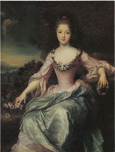 1720 Marie Anne de Bourbon Condé by Gustaf Lundberg