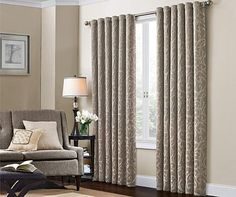 Tulsa Taupe Curtain Panel At Big Lots