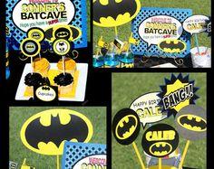 free printable batman food labels - Google Search