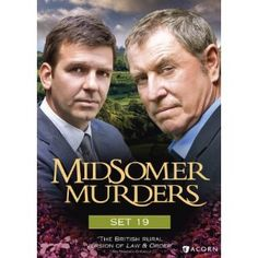 Midsomer Murders Set 19 (2010) The cozy villages of Midsomer County reveal their most sinister secrets. Inspired by the novels of Caroline Graham, modern master of the English village mystery, the series stars John Nettles as the unflappable Detective Chief Inspector Tom Barnaby, with Jason Hughes (This Life) as his earnest, efficient protégé, Detective Sergeant Ben Jones. Mystery Series, Mystery Thriller, Detective Series, John Nettles, Netflix, Midsomer Murders, Tv Detectives, British Things, Bbc Tv