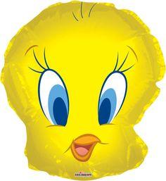 Globo metálico Piolín de Looney Toones. #Tweety