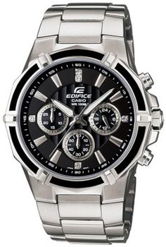 Casio General Men's Watches Edifice EF-551D-1AVDF - WW Casio. $75.22. Quartz Movement. Edifice Collection. Mineral Crystal. 40mm Case Diameter. 100 Meters / 330 Feet / 10 ATM Water Resistant. Save 25%!