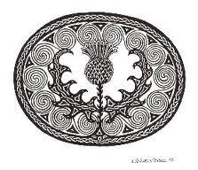 Mac Eanruig Designs - K. Celtic Patterns, Celtic Designs, Irish Celtic, Celtic Art, Thistle Flower, Calligraphy Art, Islamic Calligraphy, Celtic Dragon, Wood Burning Patterns