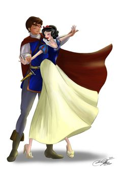 Snow White and her Prince by SilverCatseyes