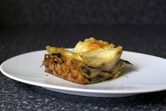 "Mushroom Lasagna - adapted, only a little, from Ina Garten (recipe) (freezer friendly) ~ ""Layers of noodles, parmesan, sauce and mushrooms are stacked and baked together and the result is ridiculous, so good"""