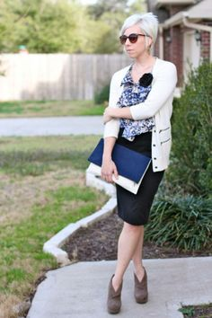 the MRS. & the MOMMA: {Smart Style} My Favorite Color Combo...Again + Unplugging