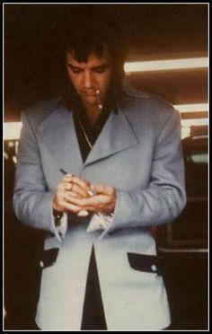 Elvis in the 70s