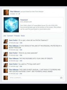 Thor was still new hahahahahha