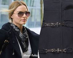 The urban chic Montgomery Coat that actress Margot Robbie loves.