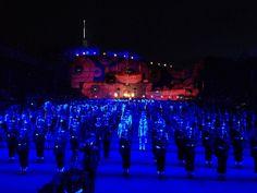 Royal Military Tattoo Edinburgh August 1st 2014.  Fabulous spectacle, we enjoyed every minute