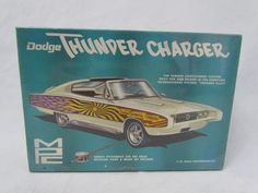 1/25 Scale MPC Dodge Thunder Charger Model Kit 608-200 Vintage 1967 NEW SEALED #MPC