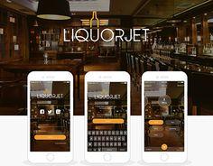 "Check out new work on my @Behance portfolio: ""Liquor Jet App""…"