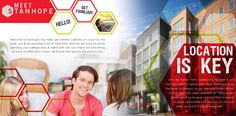 Brochure piece for Stanhope, #studenthousing community in Raleigh, NC! #marketing #collateral