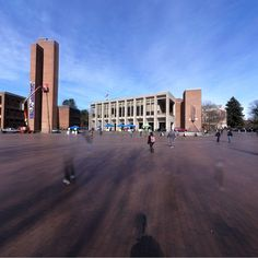360 of Red Square on the UW Campus