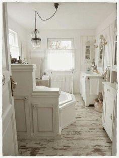 bathroom - Badezimmer Shabby Chic