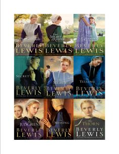Checkout these books by Beverly Lewis!