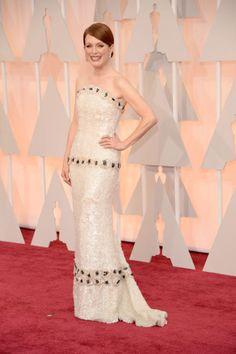 Julianne Moore in Custom Chanel Haute Couture