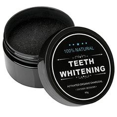 LuxBeaut Coconut Activated Teeth Whitening Powder