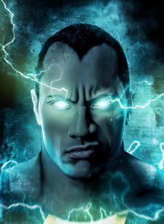 Fan Art Depicting Dwayne Johnson As 'Black Adam'