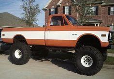 70's model chevy c10 pickup truck